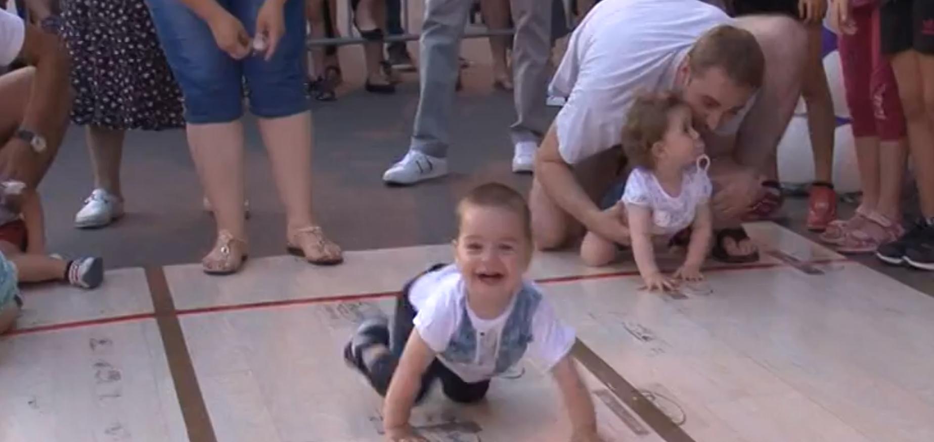 """Odložena bebi trka """"Tata, mama trčite sa nama"""""""
