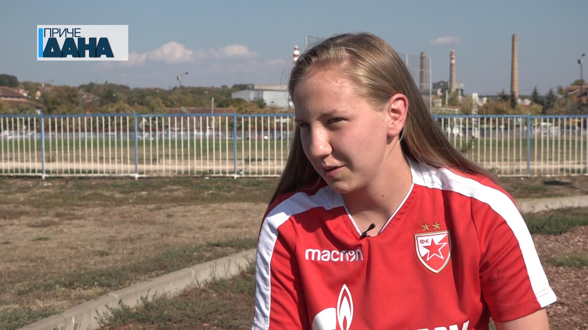 Anđela Krstić – reprezentativka Srbije u fudbalu