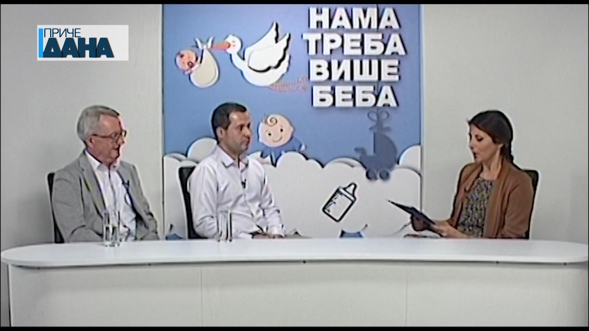 NAMA TREBA VIŠE BEBA – GOSTI: Zoran i Đorđe Prokić, spec. ginekologije i akušerstva
