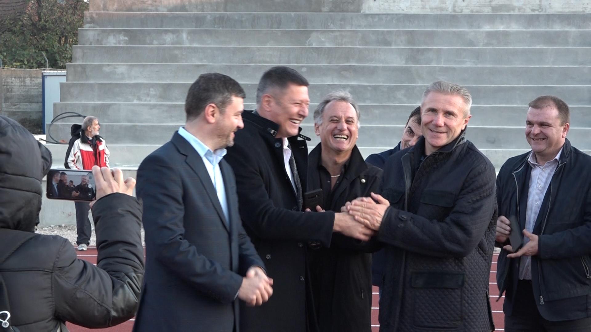 Sergej Bubka obišao Atletski centar Srbije u Ćupriji