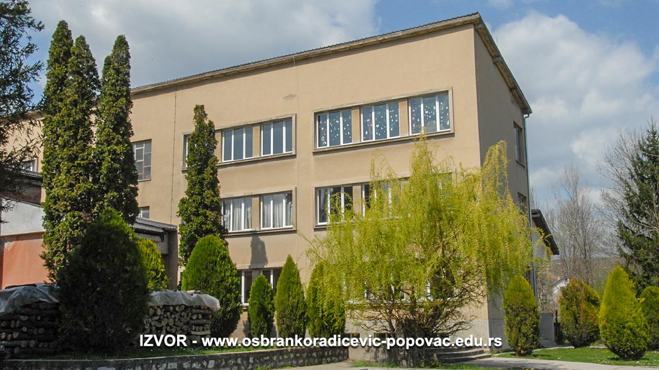"""OŠ """"Branko Radičević"""" Popovac"""