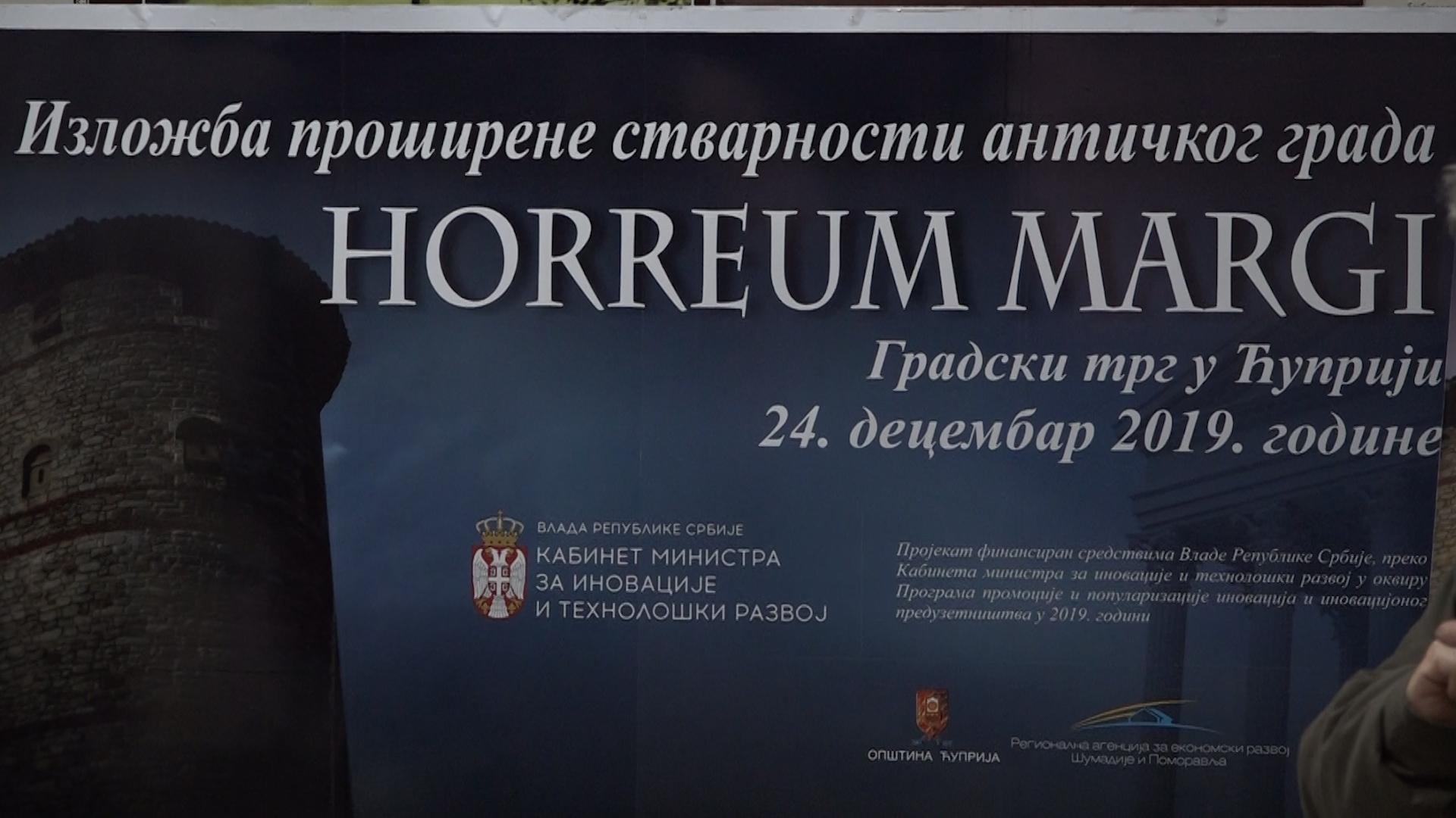 Izložba proširene stvarnosti antičkog grada Horreum Margi