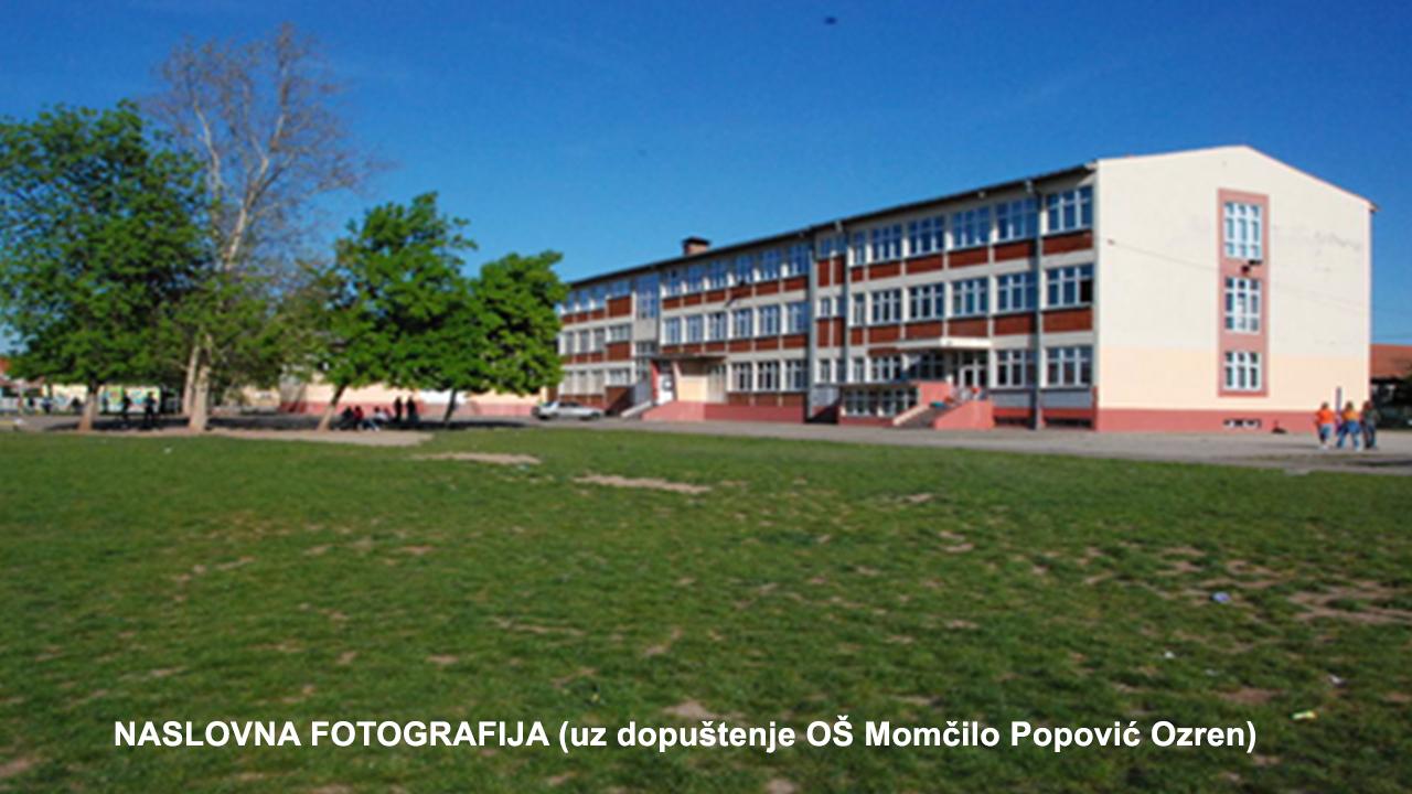 "OŠ ""Momčilo Popović Ozren"" Paraćin"