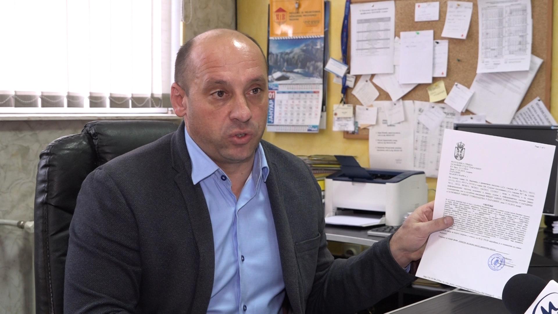 Dejan Nešić – reakcija na krivičnu prijavu Opštinskog veća Opštine Paraćin