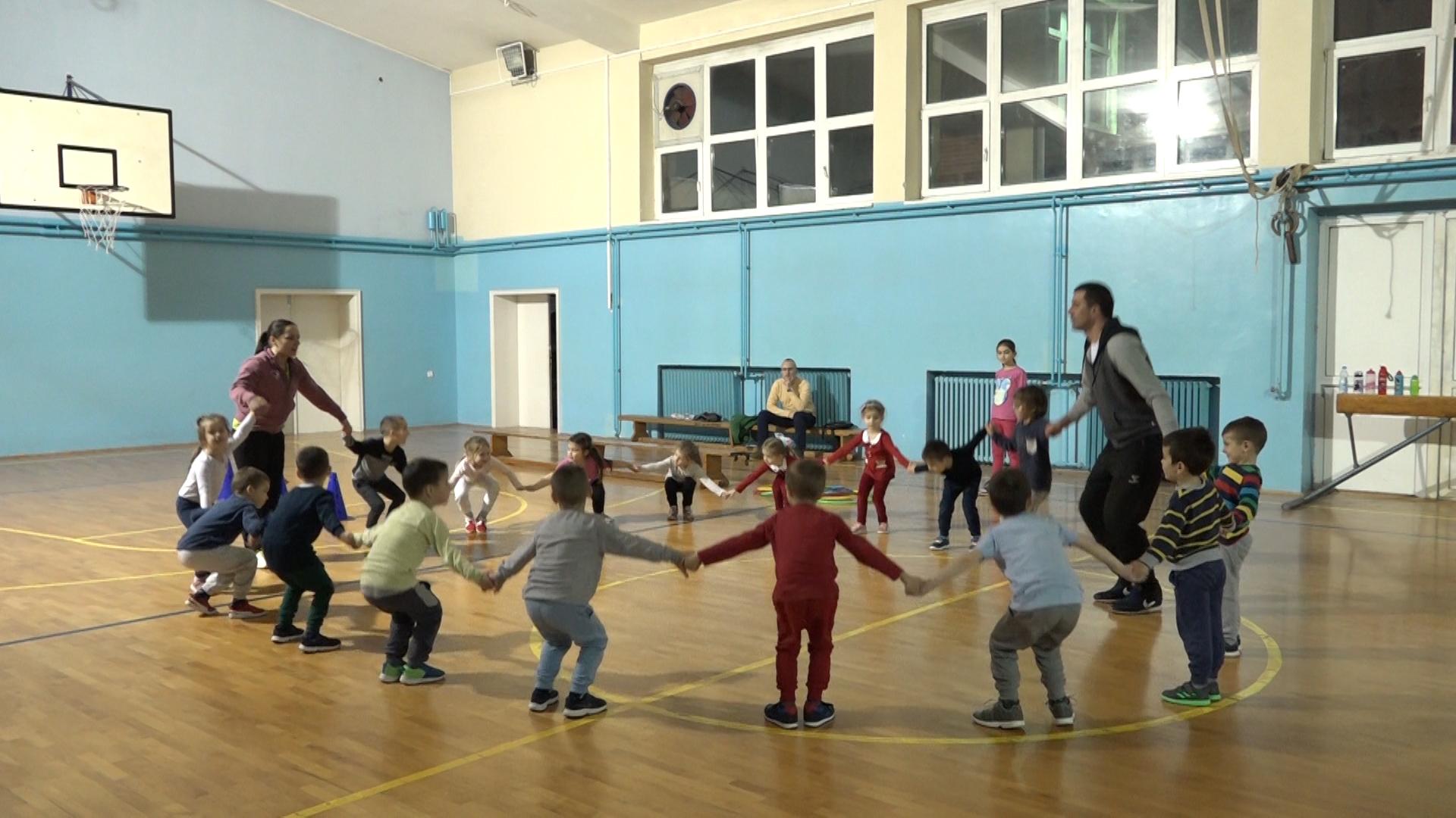 Školica sporta, sekcija Gimnastičkog kluba Paraćin
