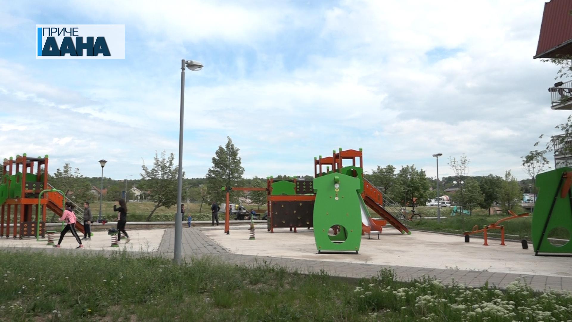 Otvoreni parkovi i šetališta u Paraćinu