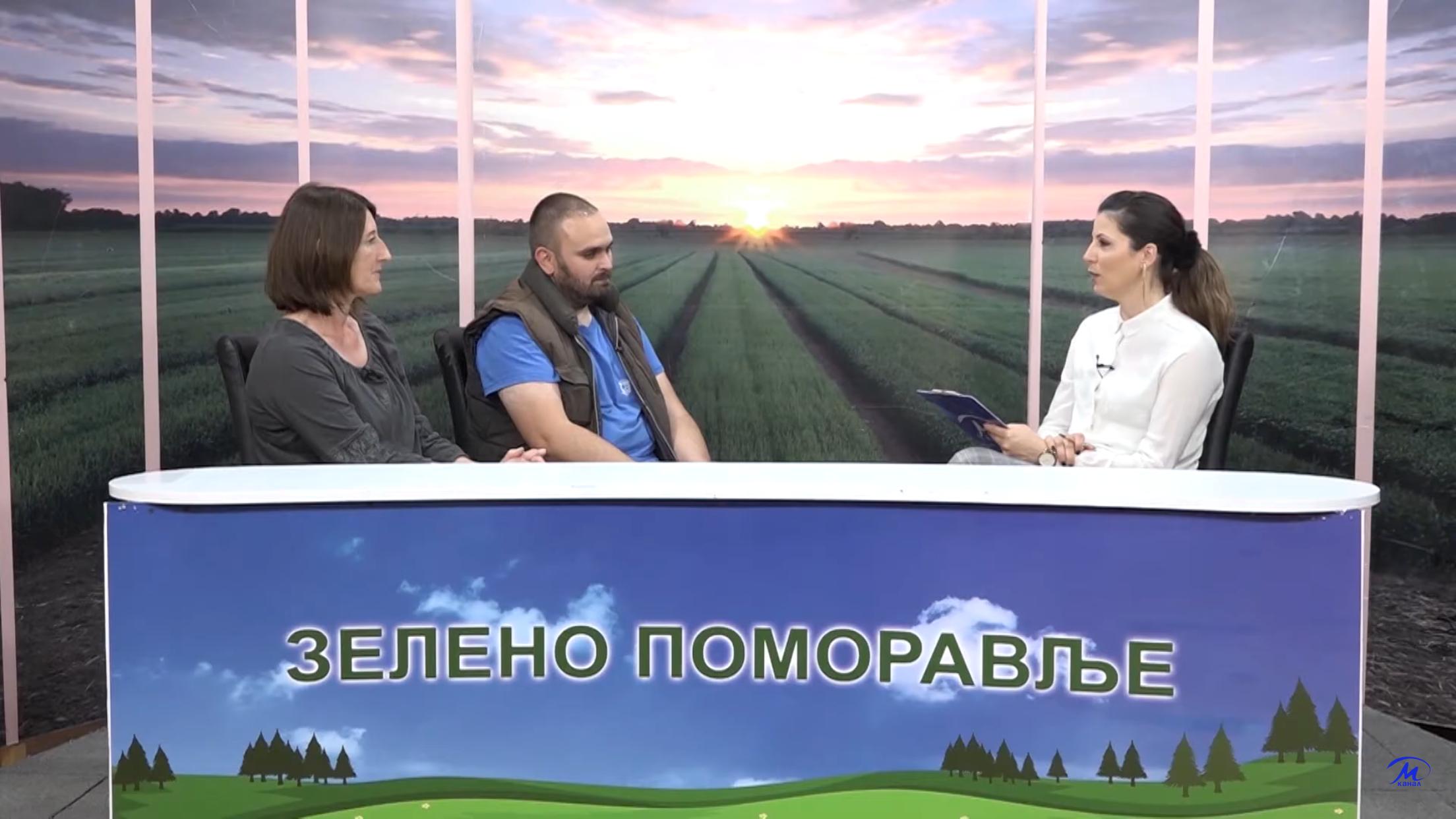 ZELENO POMORAVLJE – Igor Andrejić i Mira Miljković, PSSS Jagodina