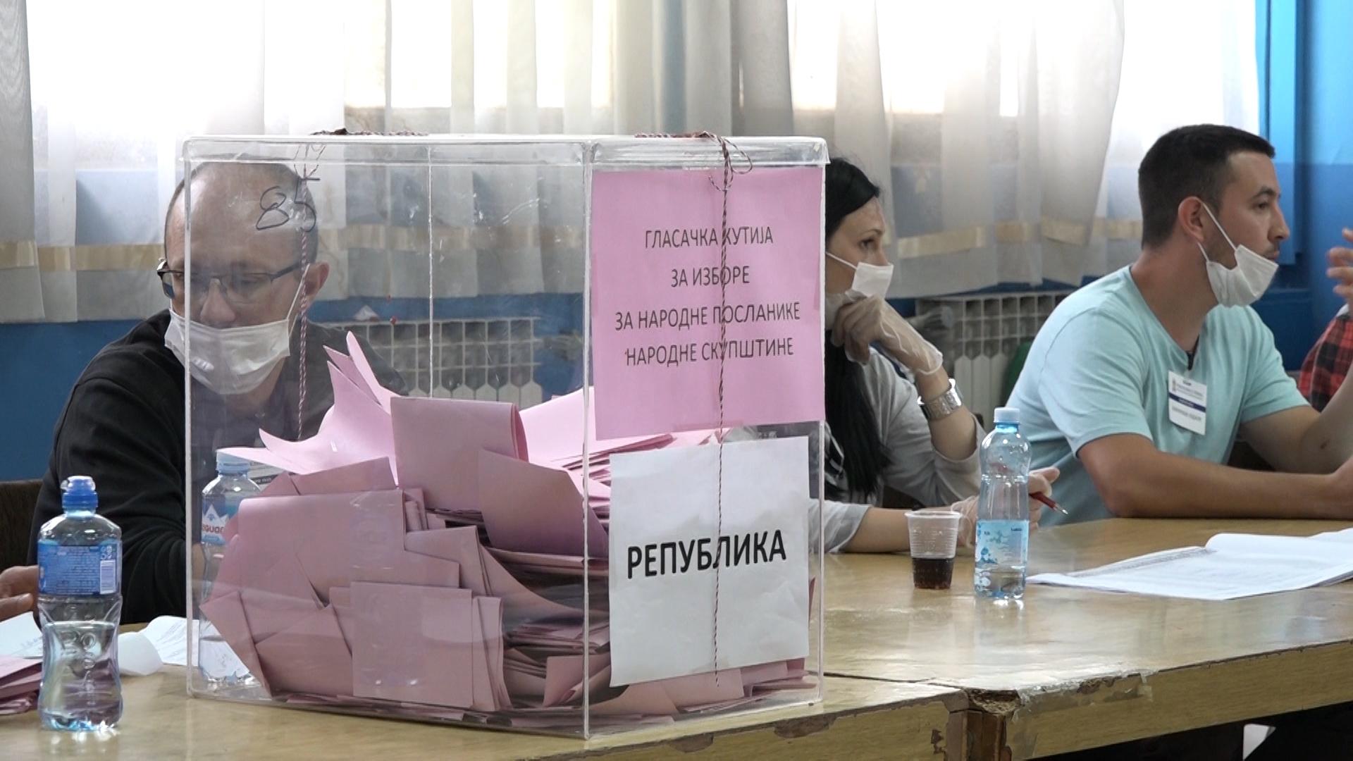 Izborni proces u Paraćinu – Biračka mesta 11. Kongres i Dankovo