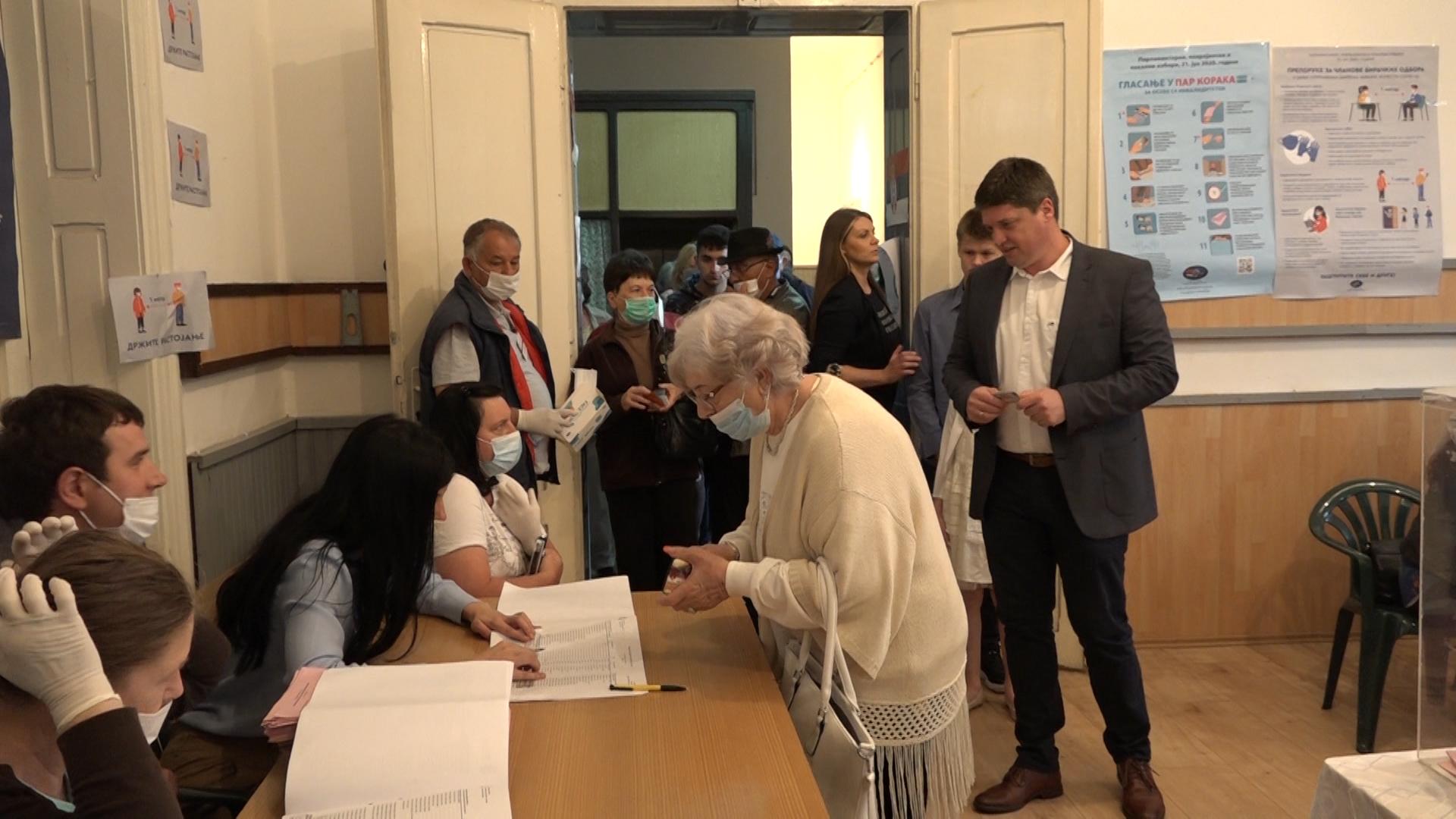Izborni proces – Biračko mesto 10, MZ Centar