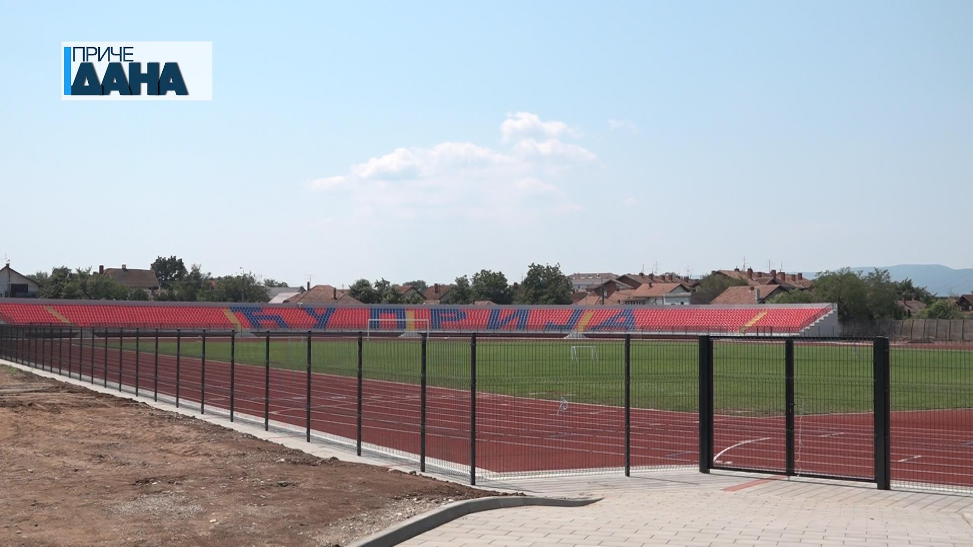 Atletski stadion u Ćupriji