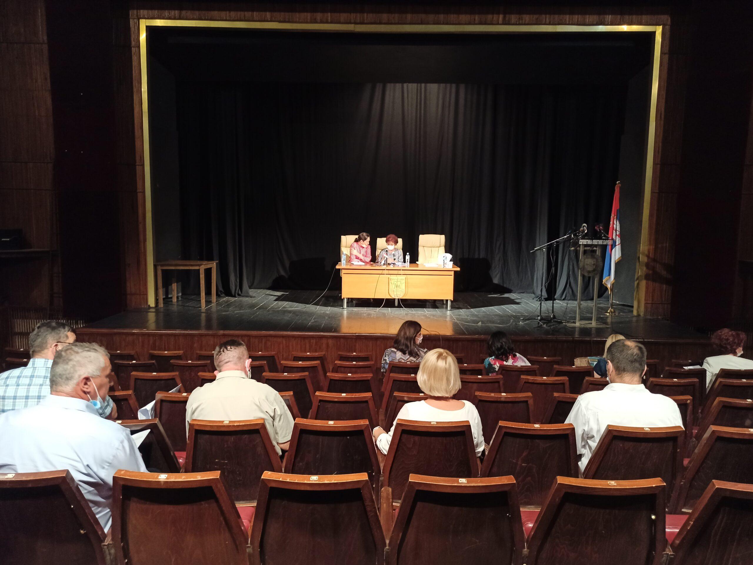 Konstitutivna sednica Skupštine opštine Paraćin – blog uživo