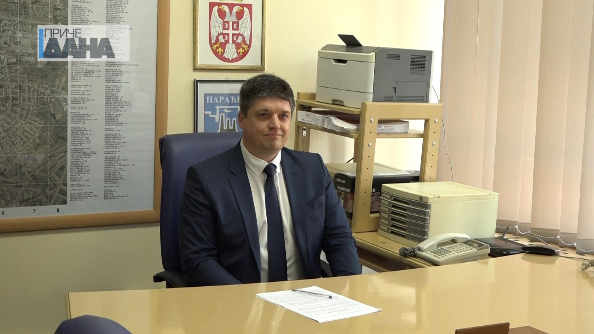 Primopredaja dužnosti predsednika Opštine Paraćin