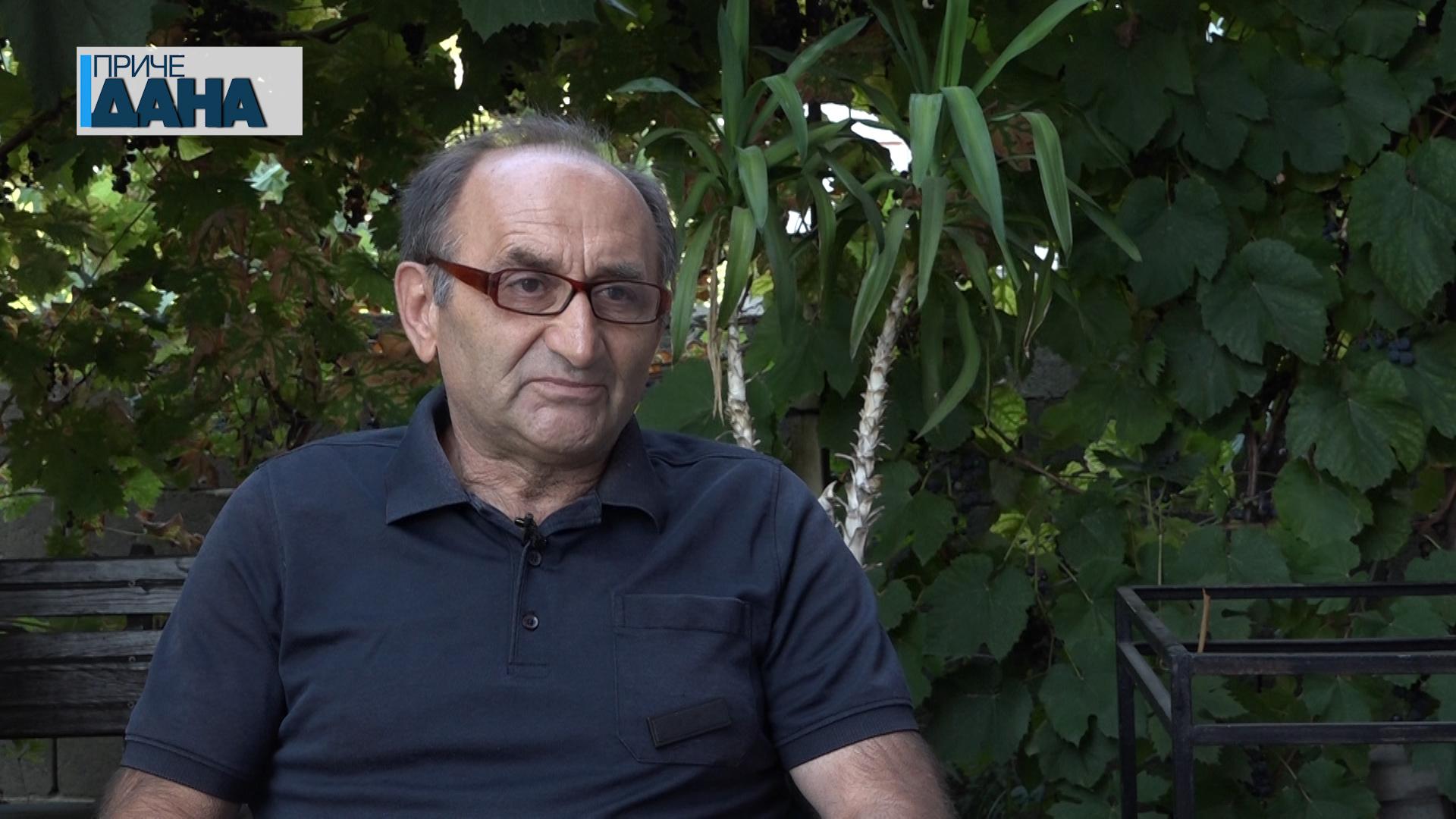 Živomir Žiža Stojanović nekadašnji predsednik paraćinskog Streljačkog kluba SFS Borac