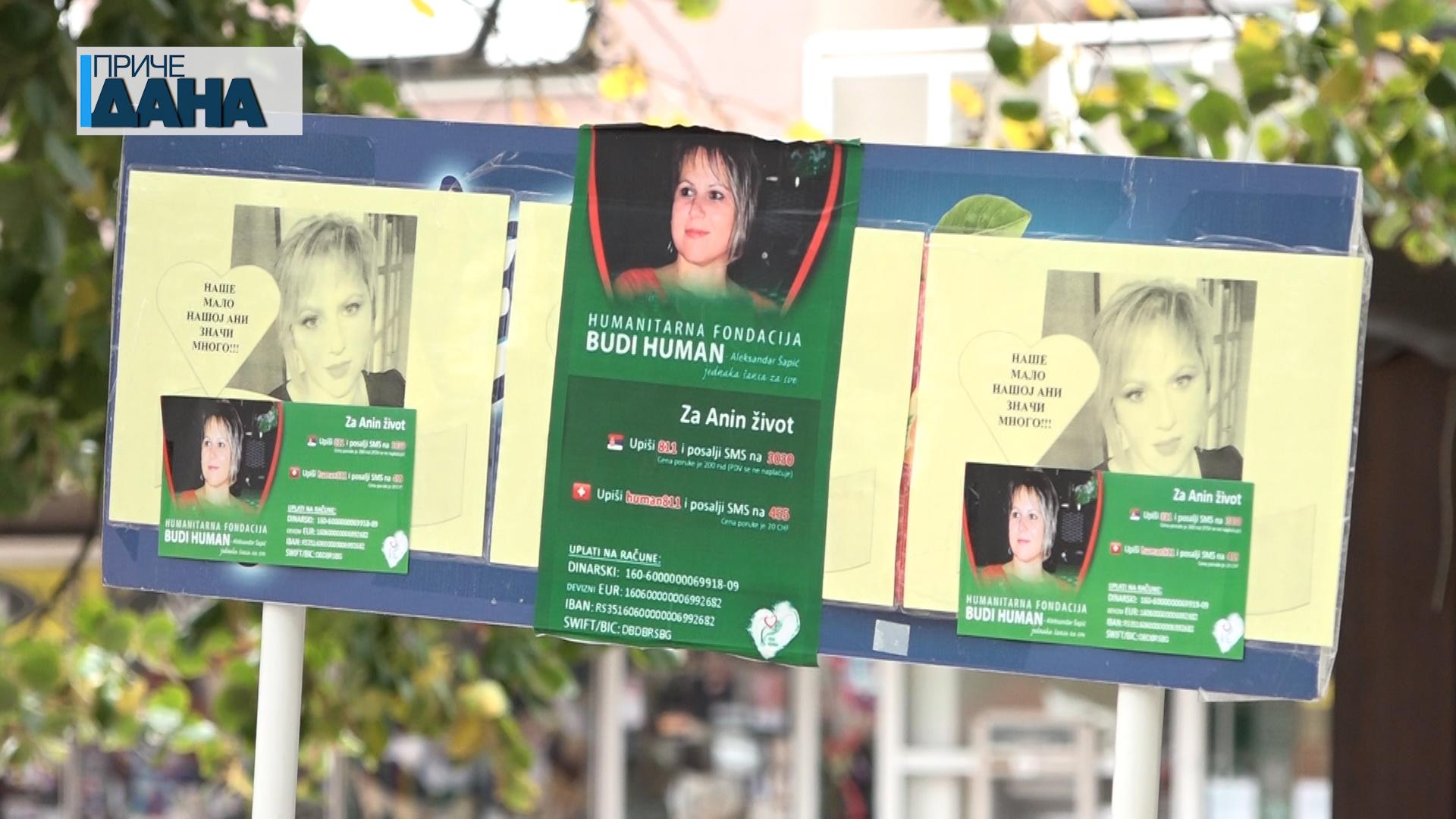 Humanitarni štand za Anu Jaćimović