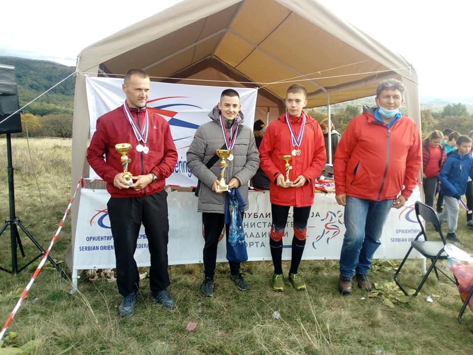 Sava Lazić prvak Srbije u orijentiringu