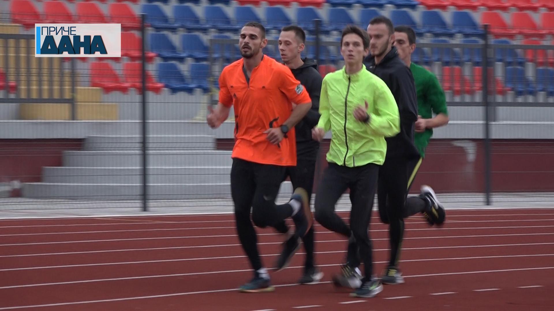 Miroslav Dukadinović član OAK Morava, prvak Srbije na 800 metara