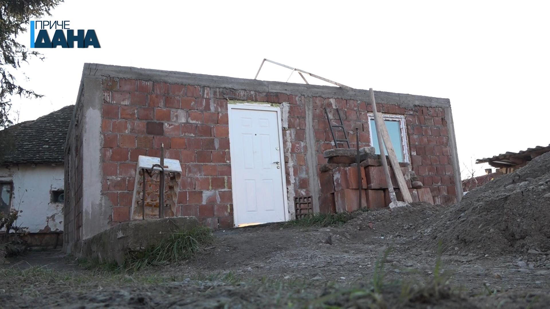 Dokle se stiglo sa izgradnjom kuće Gorana Nikolića iz Lebine