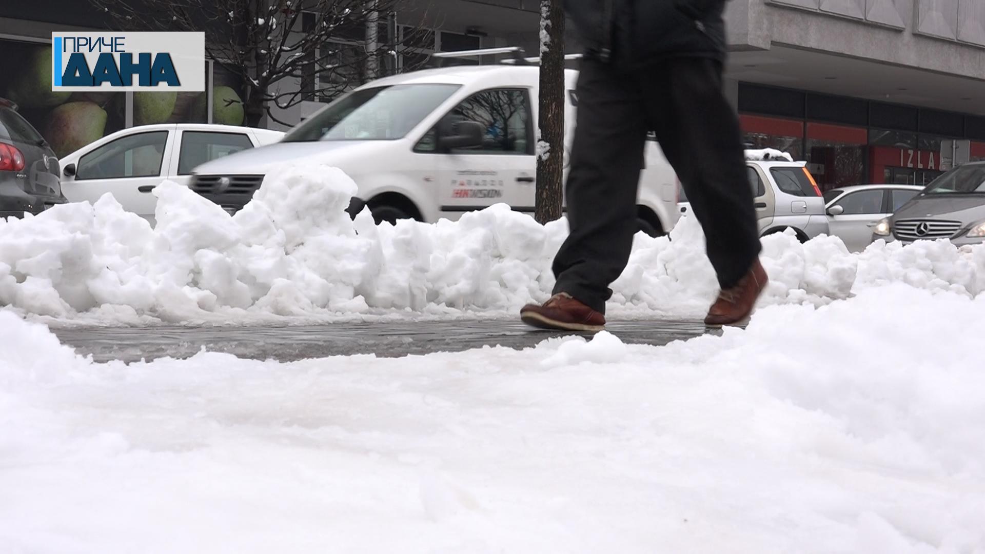 Obaveza čišćenja snega ispred stambenih i poslovnih objekata