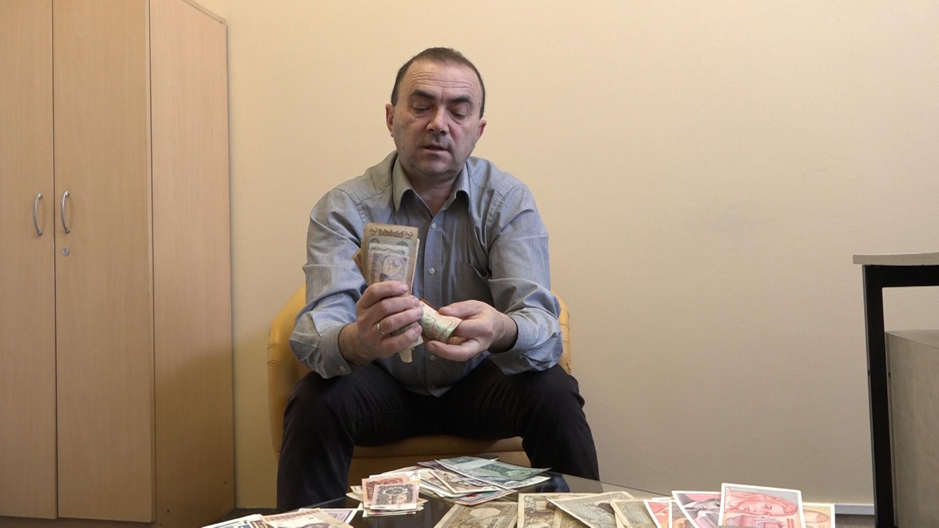 Vladan Vučković – kolekcionar papirnih novčanica