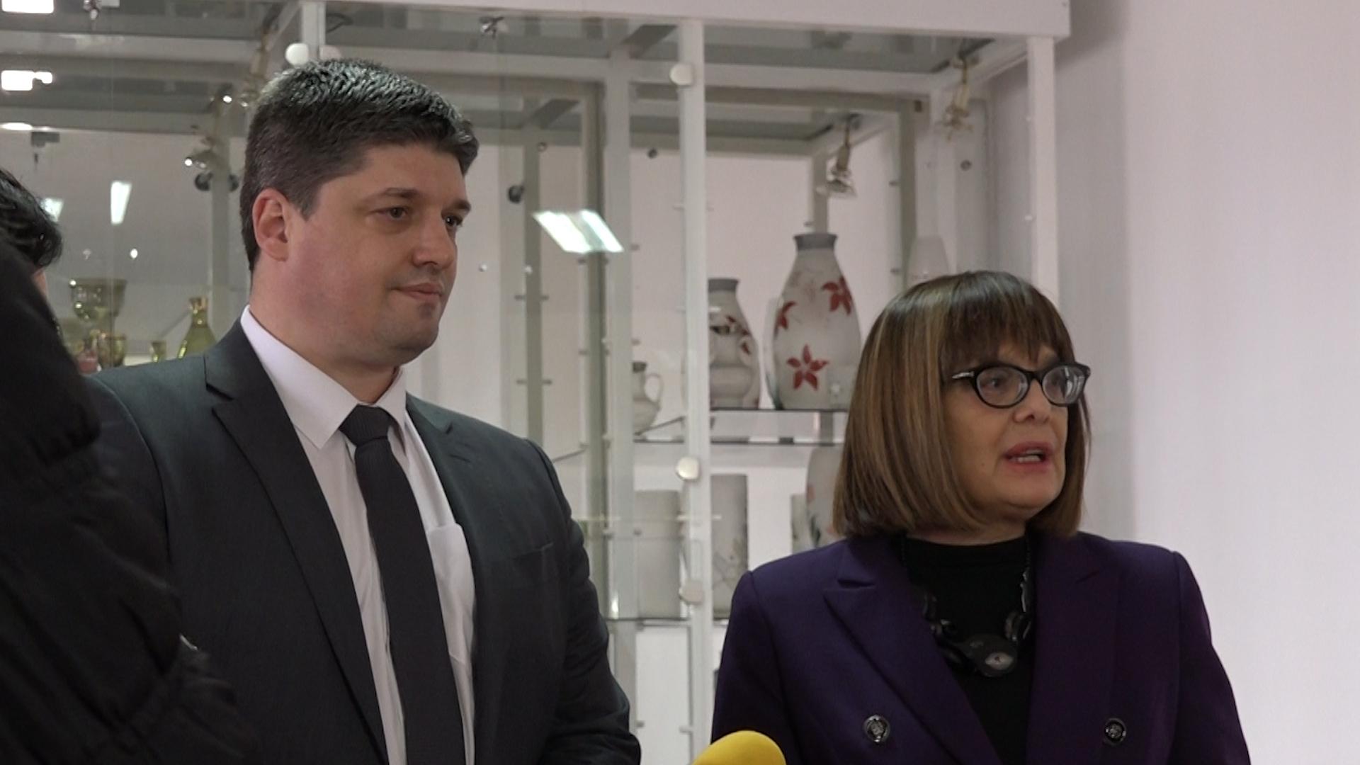 Poseta ministarke kulture i informisanja i potpredsednice Vlade Maje Gojković Opštini Paraćin
