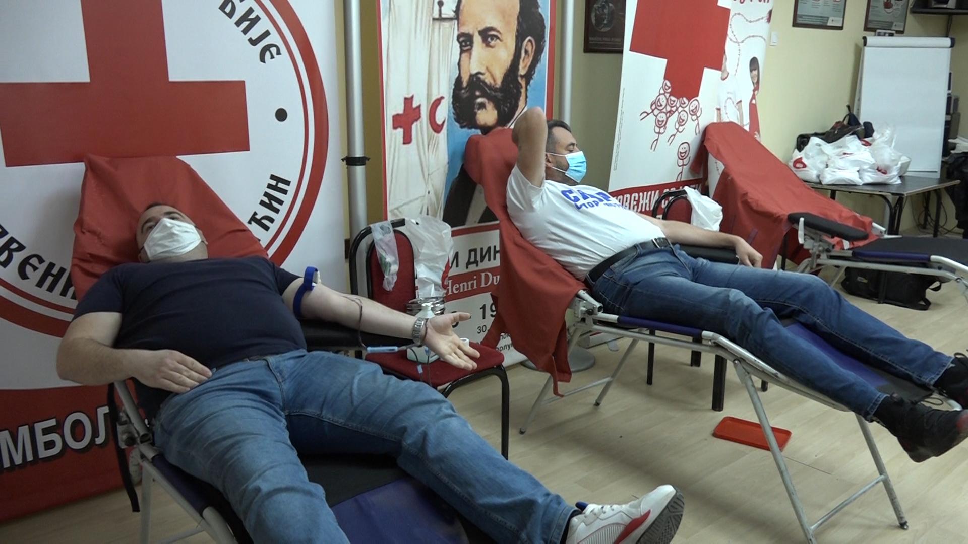 Prva martovska akcija dobrovoljnog davanja krvi u CK Paraćin