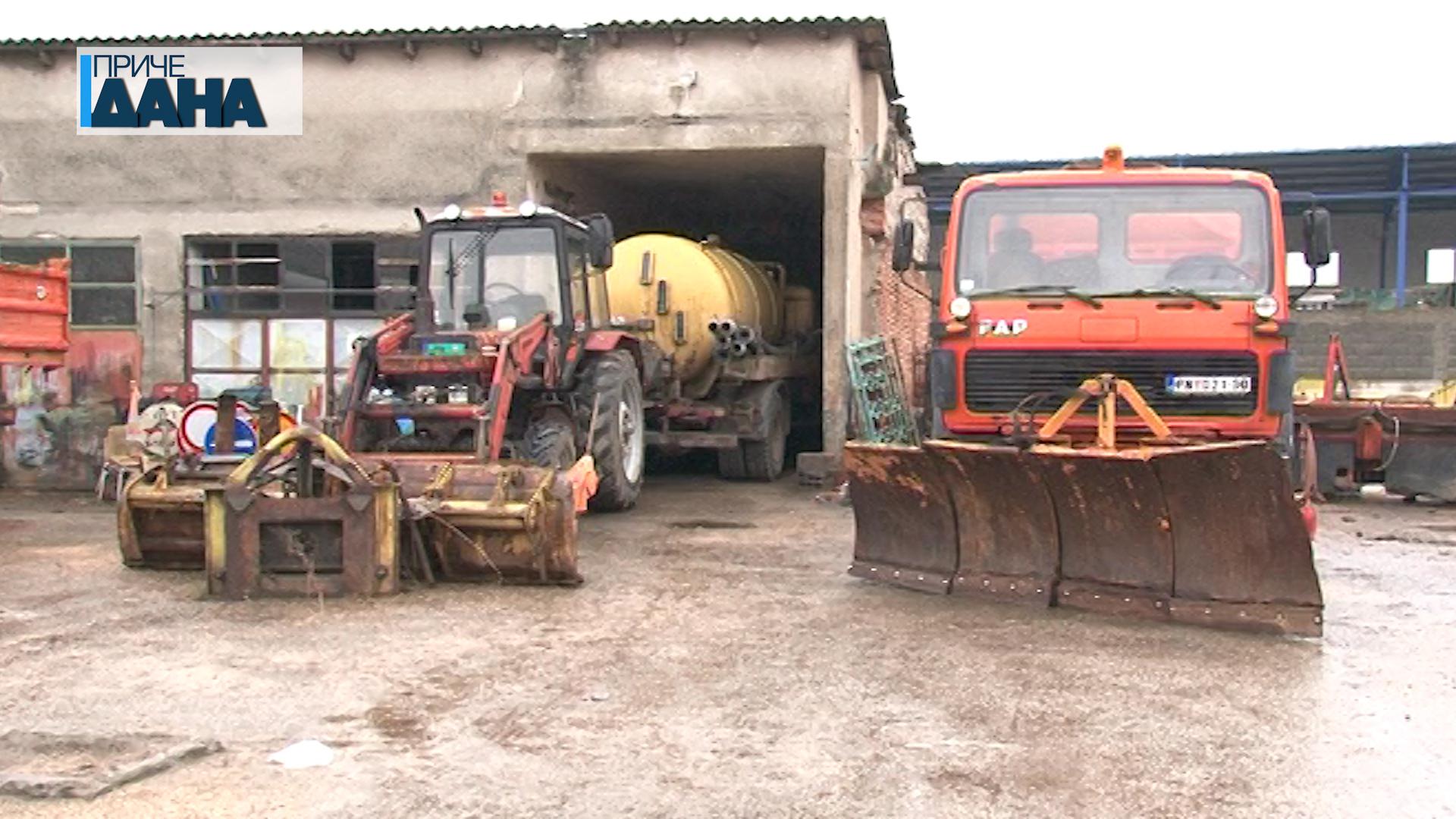 Služba zimskog održavanja puteva u stanju pripravnosti zbog najavljenih padavina