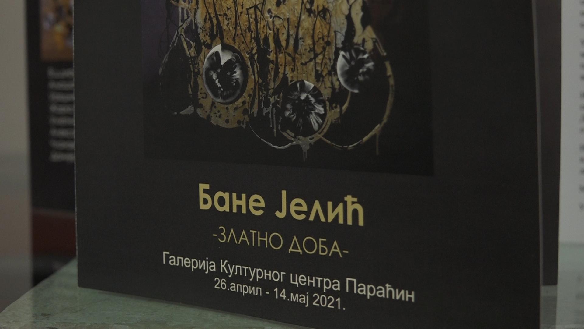 """Izložba Baneta Jelića """"Zlatno doba"""" u Kulturnom centru"""