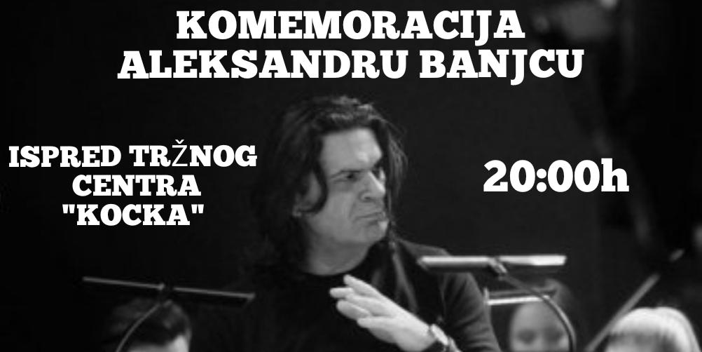 Komemoracija u čast Aleksandra Banjca