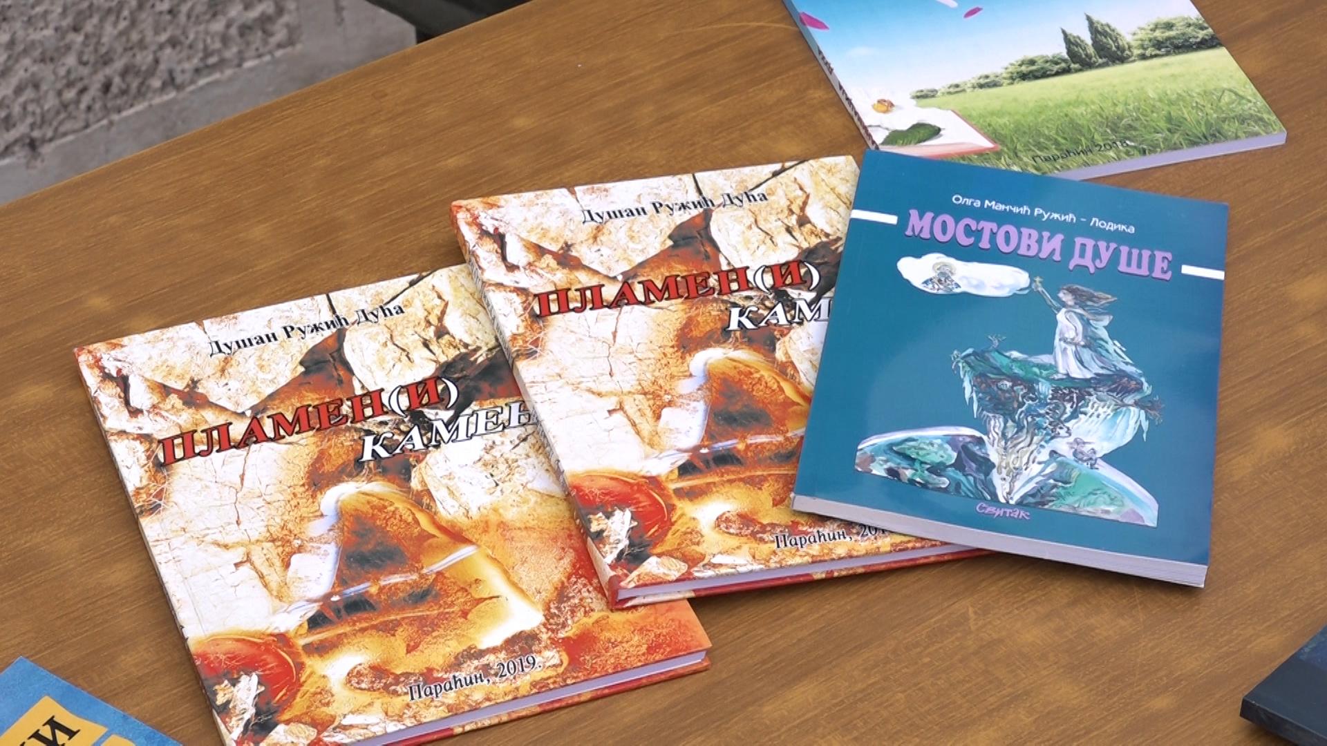 "Manifestacijom ""Knjiga na dar"" paraćinski književnici obeležili Svetski dan knjige"