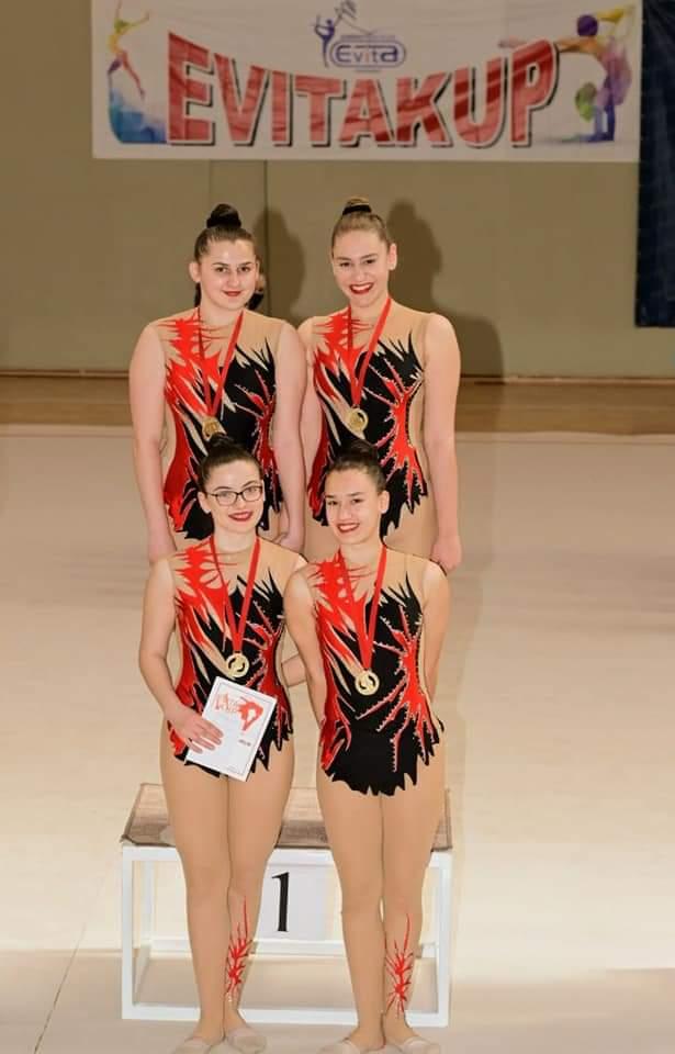 Paraćin domaćin gimnastičkog Prvenstva Srbije u grupnim vežbama