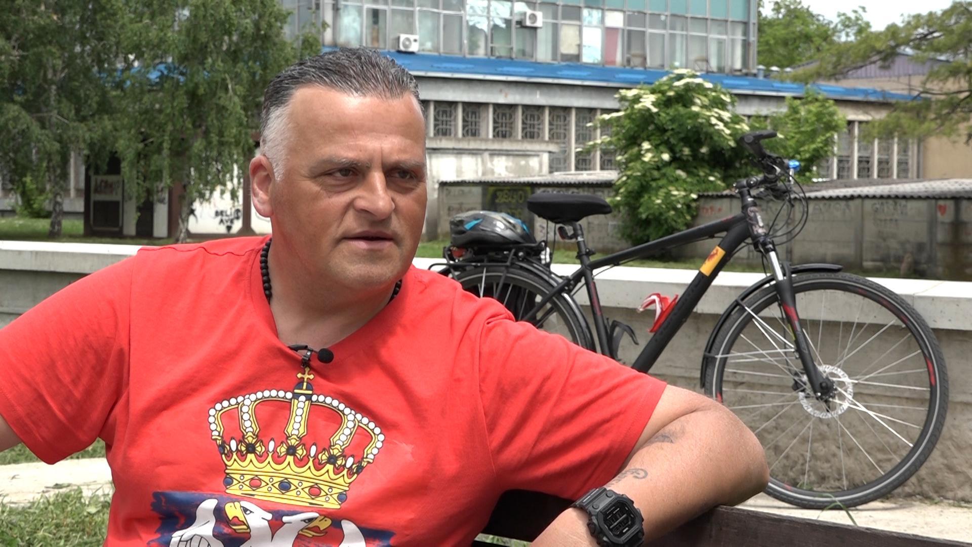 Utisci Zlatka Jovanovića sa putovanja biciklom do Severne Makedonije