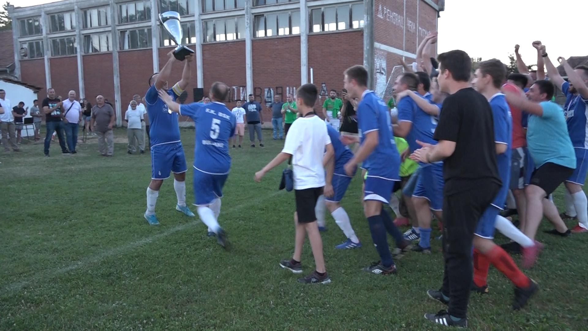 Fudbaleri BSK Buljane pobednici opštinskog Kupa u fudbalu