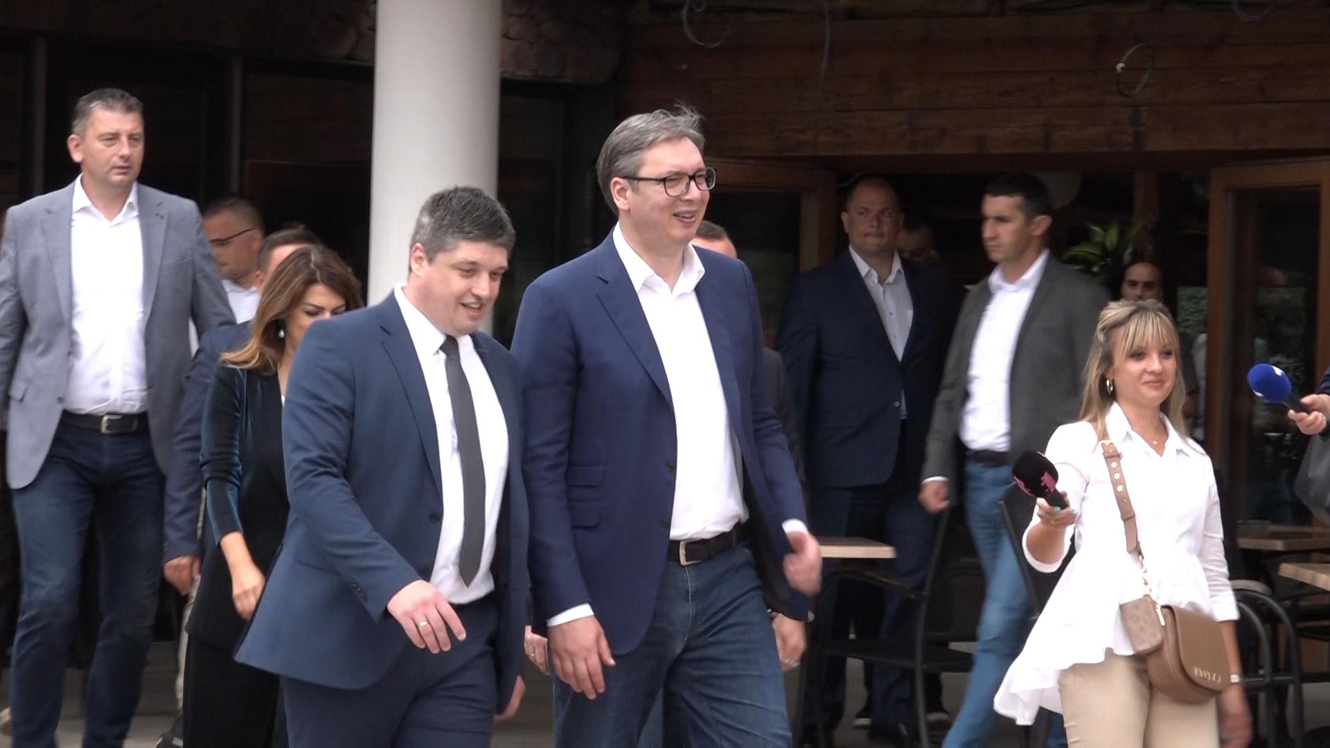 Poseta predsednika Srbije Aleksandra Vučića u Sisevcu