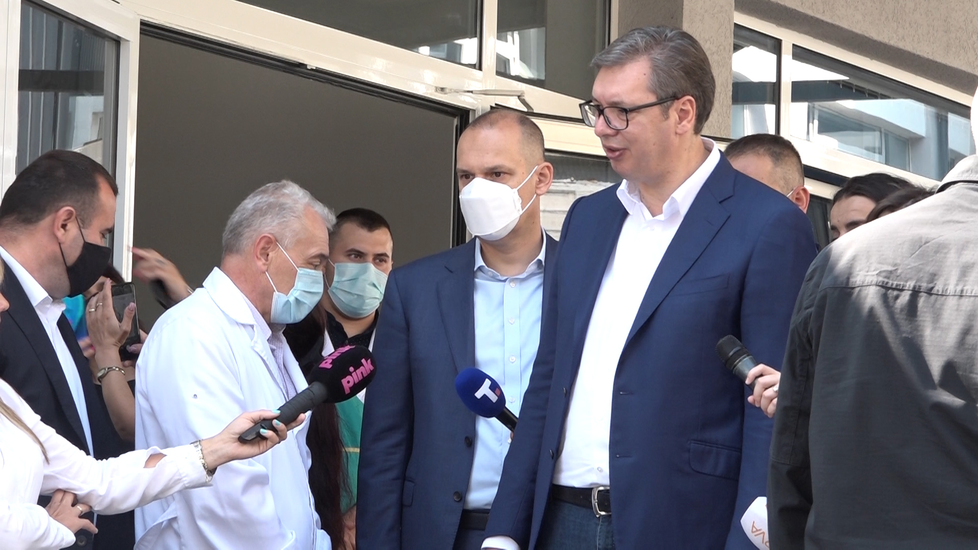 Predsednik Srbije Aleksandar Vučić posetio Despotovac