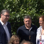 Predsednik Srbije u poseti Rekovcu