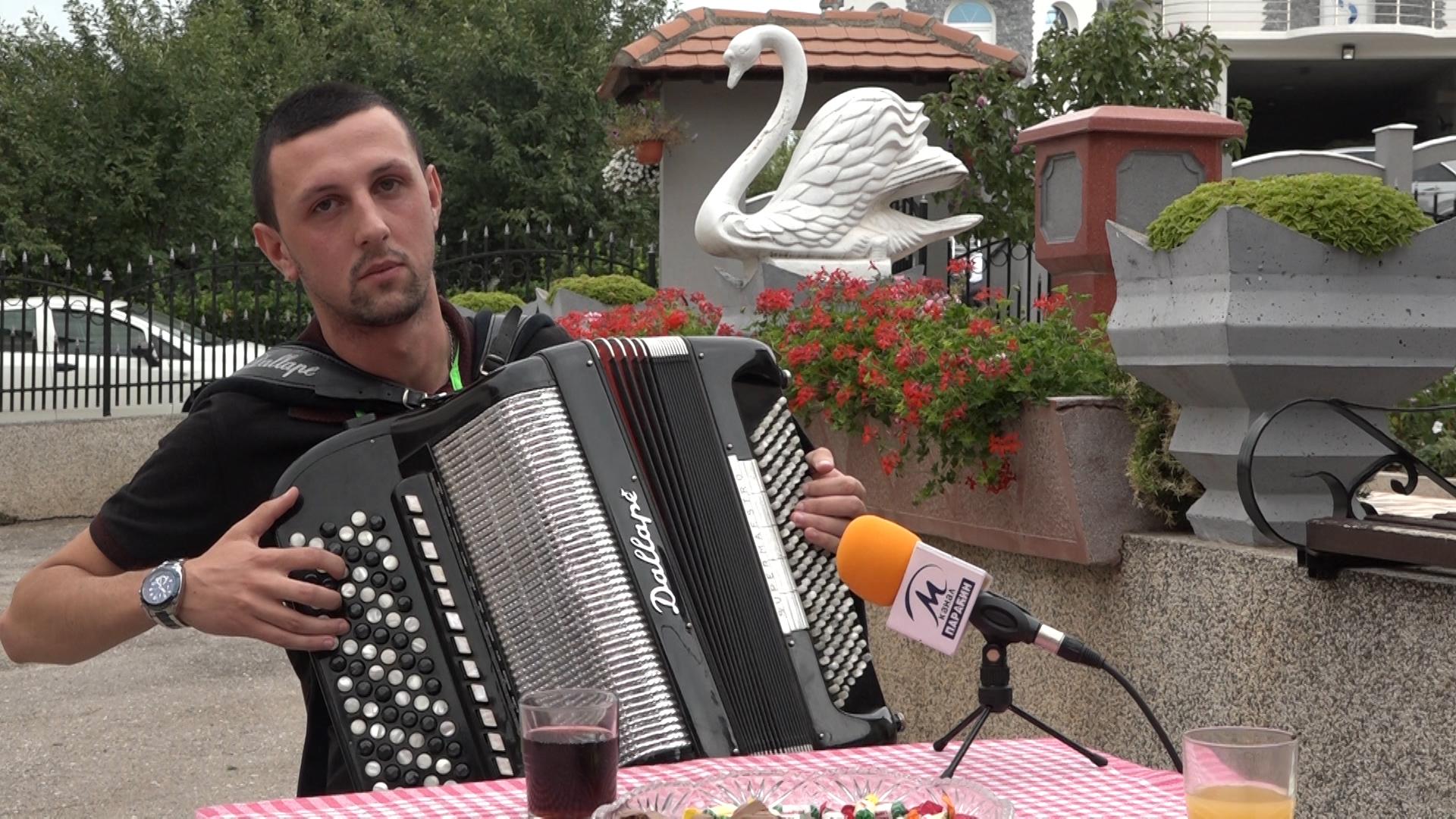 Harmonikaš iz Stubice Miloš Jovanović Bakin