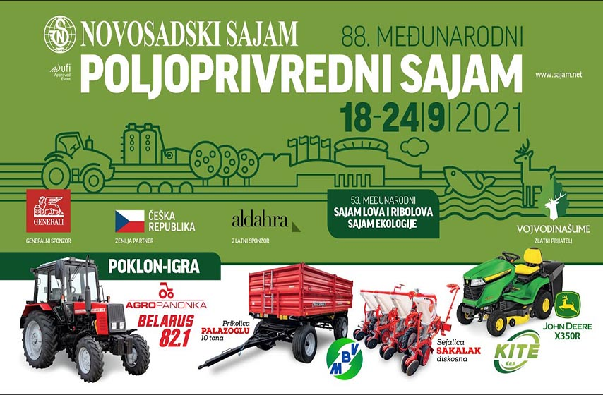 Opština Paraćin organizuje odlazak na 88. Međunarodni sajam poljoprivrede u Novom Sadu
