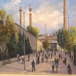 Jubilarna 50. izložba slika Bora Lekića u paraćinskom Kulturnom centru