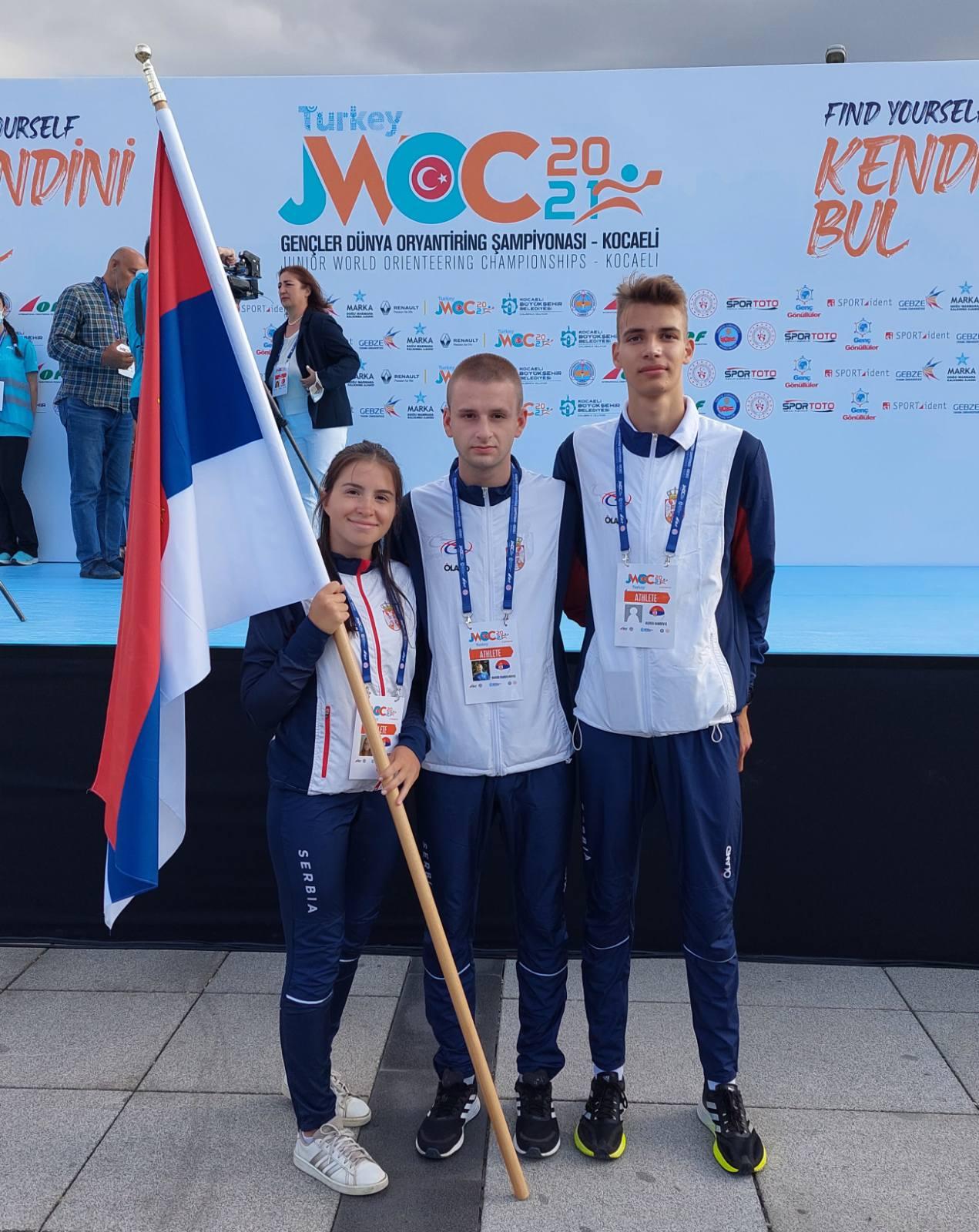 Paraćinac Marko Radovanović nastupio na Svetskom juniorskom prvenstvu u orijentiringu