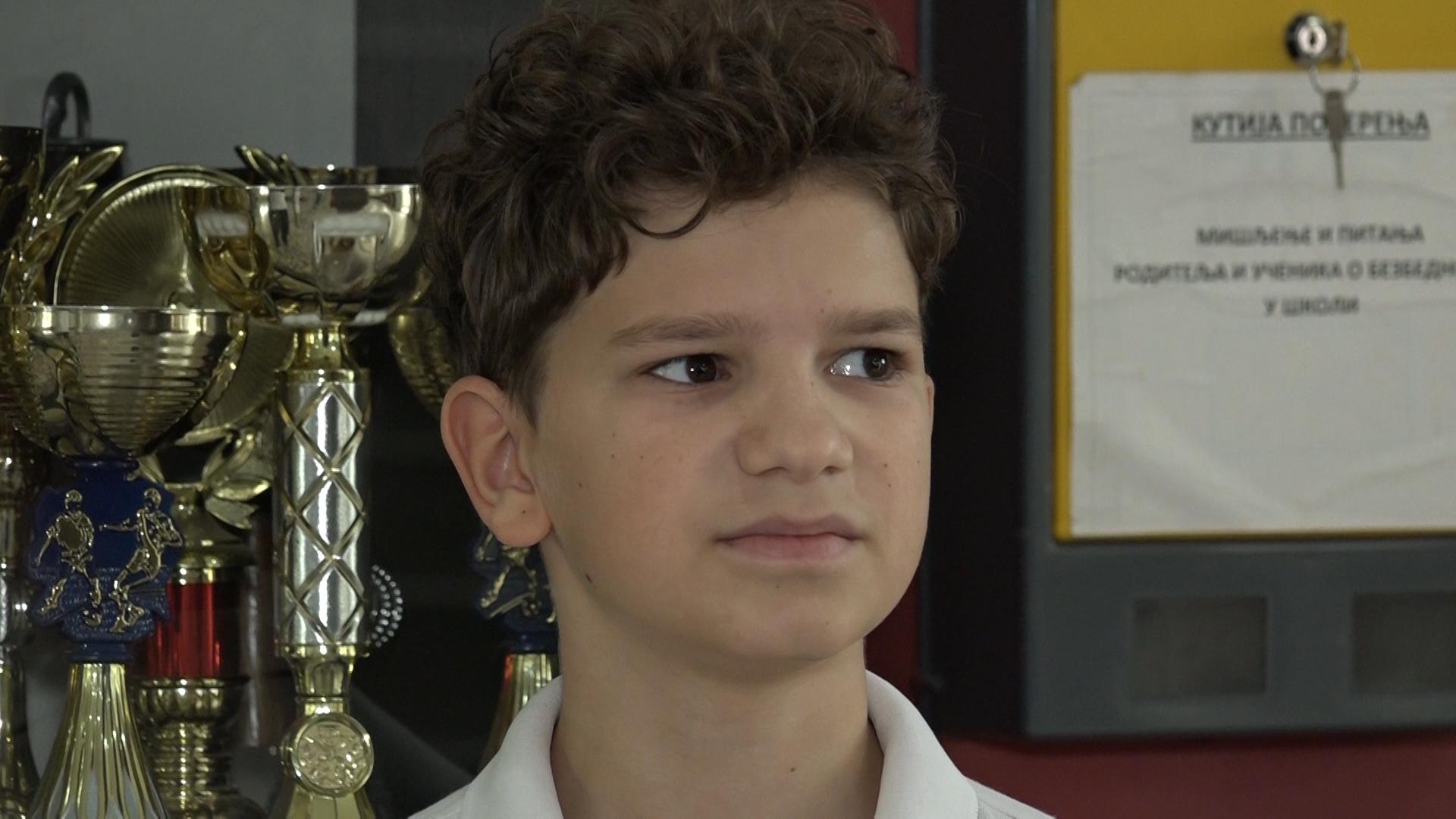 Mladi paraćinski karatista Dimitrije Živković osvajač bronze na Svetskim školskim sportskim igrama