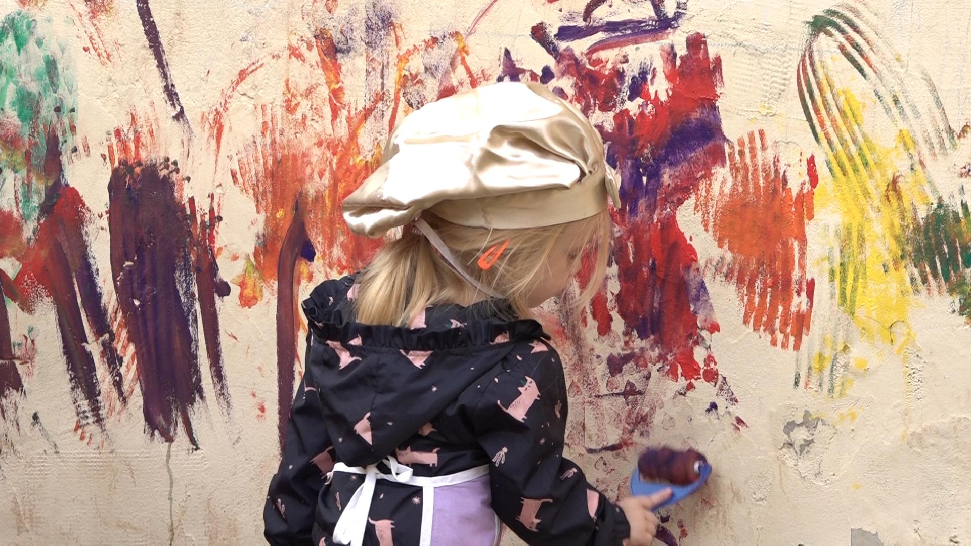 """Oslikavanje zida u vrtiću """"Bambi"""""""