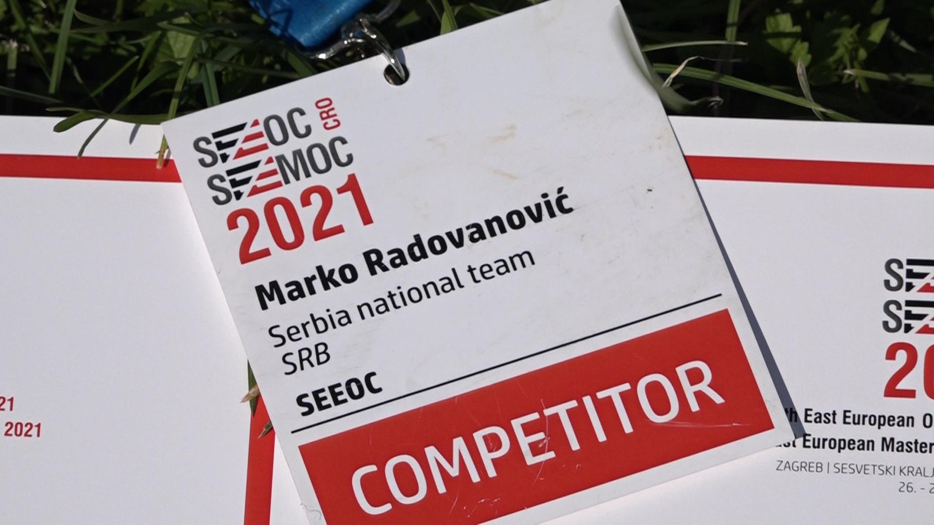 Paraćinski orijentirac Marko Radovanović odličan na Prvenstvu Jugoistočne Evrope