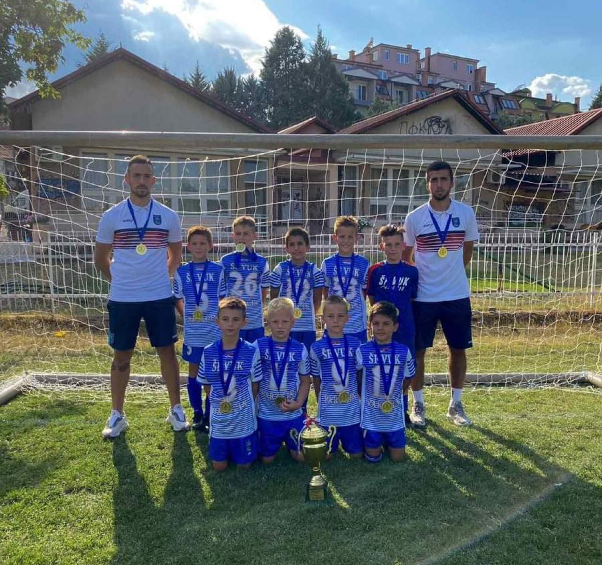 Škola fudbala VUK iz Paraćina ostvarila odličan plasman na turniru u Makedoniji
