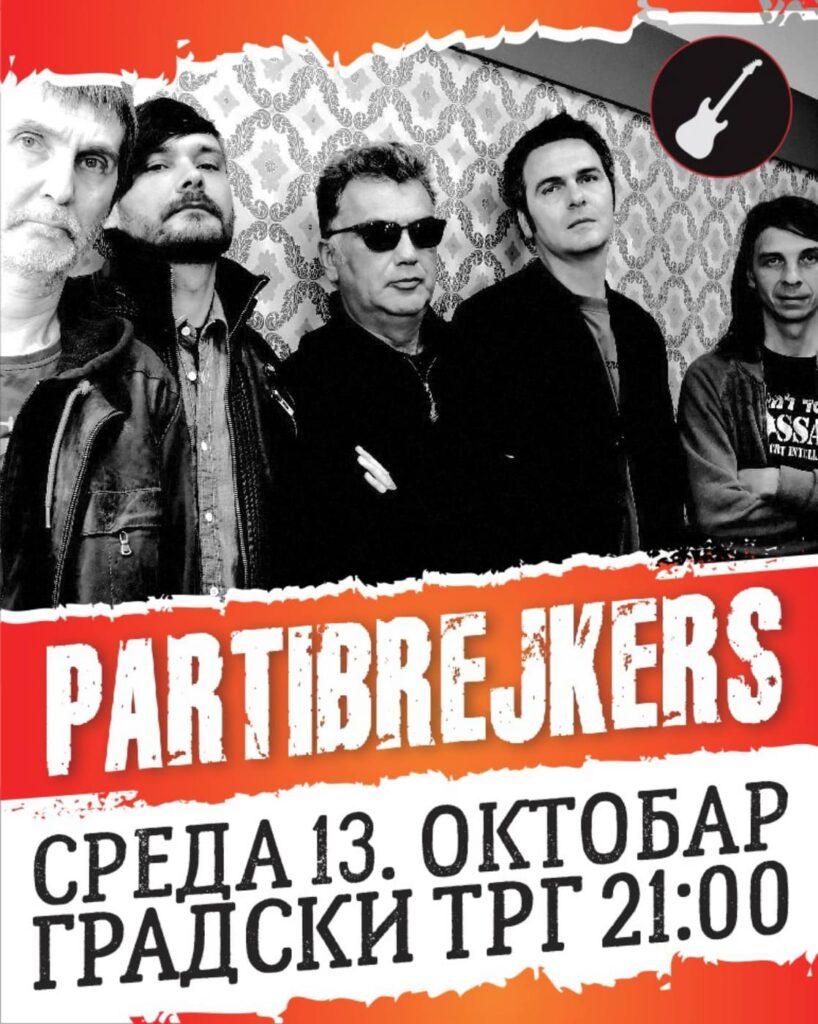 Koncert Partibrejkersa u Ćupriji za Dan opštine