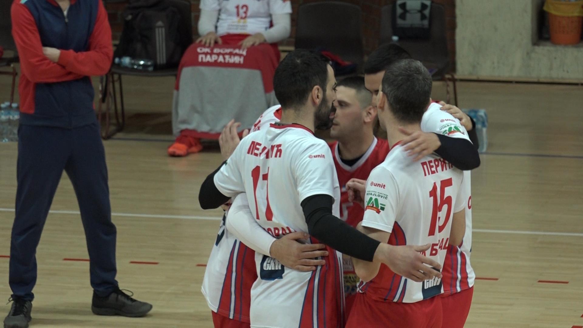 Odbojkaši paraćinskog Borca na Crvenu zvezdu u 1/8 finala Kupa Srbije