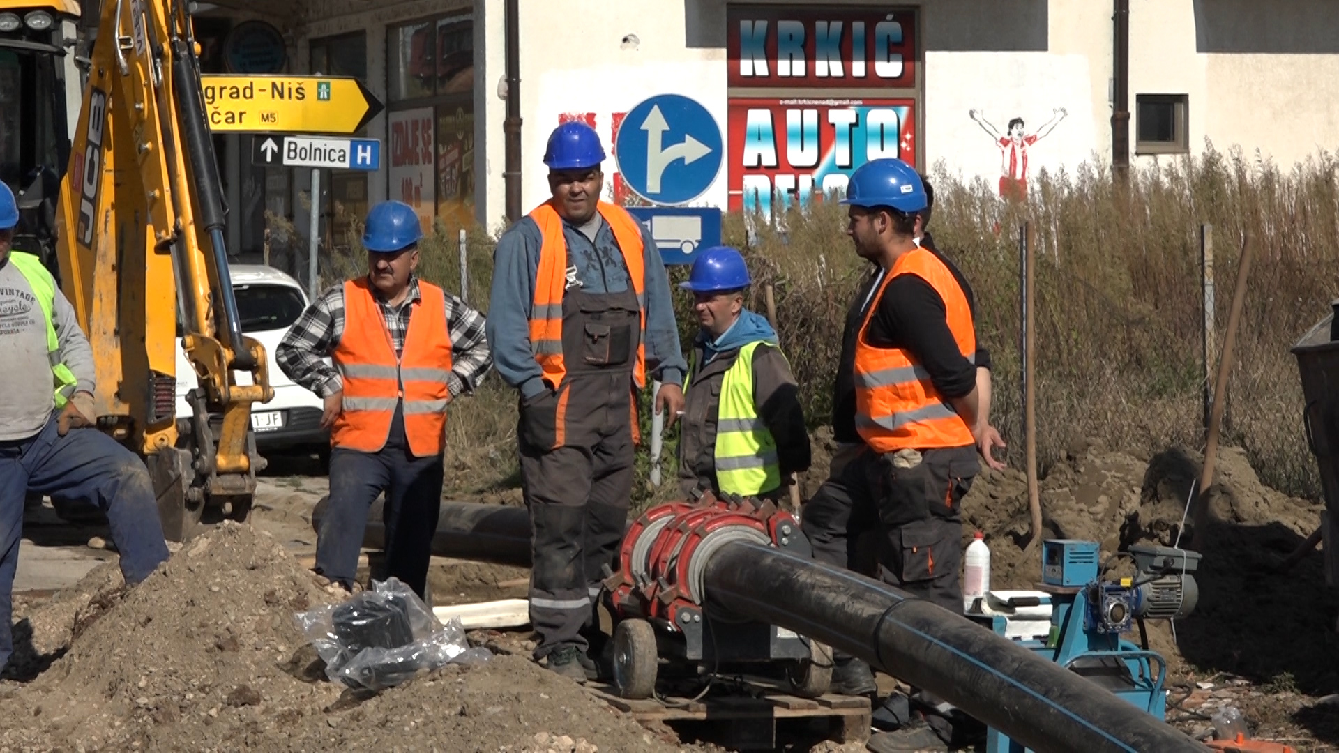 Privode se kraju radovi na rekonstrukciji vodovodne mreže u bivšoj Niškoj ulici