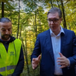 Predsednik Srbije obišao radove na rekonstrukciji puta u Sisevcu